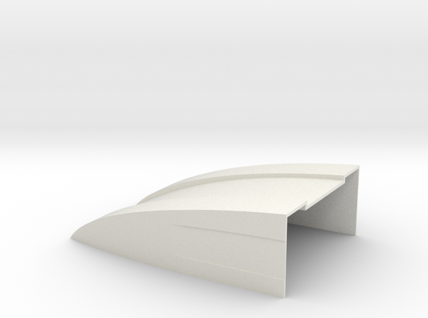 100x70x30 Deflektor for Bruder Sprinter  in White Natural Versatile Plastic
