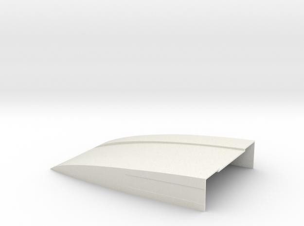 120x80x20 Deflektor for Bruder Sprinter BF3 in White Natural Versatile Plastic