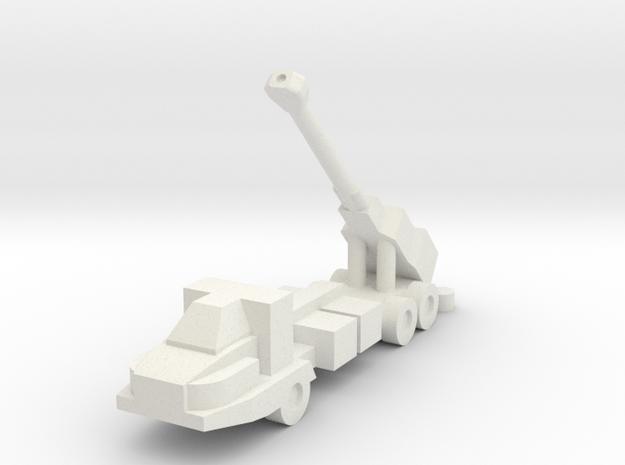 1/144 Swedish Archer Artillery System (x1) in White Natural Versatile Plastic