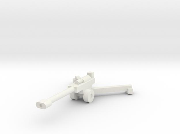 1/144 155mm M198 (x1) in White Natural Versatile Plastic