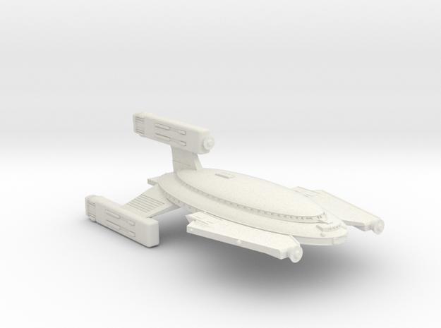 3788 Scale Vudar War Destroyer Scout (DWS) MGL in White Natural Versatile Plastic