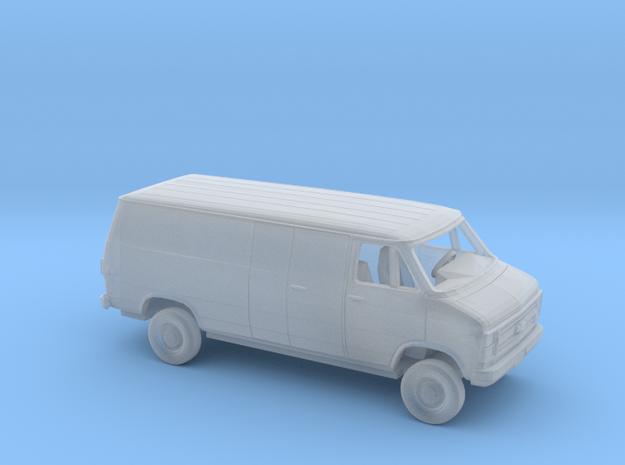 1/160 1984 Chevrolet G Van Long Wheelbase Enclosed in Smooth Fine Detail Plastic