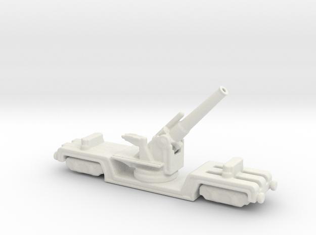 BL 12 inch howitzer Mk 3 1/200  in White Natural Versatile Plastic