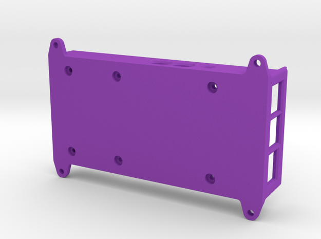 VMX-pi Base [Raspberry Pi 4B] in Purple Processed Versatile Plastic
