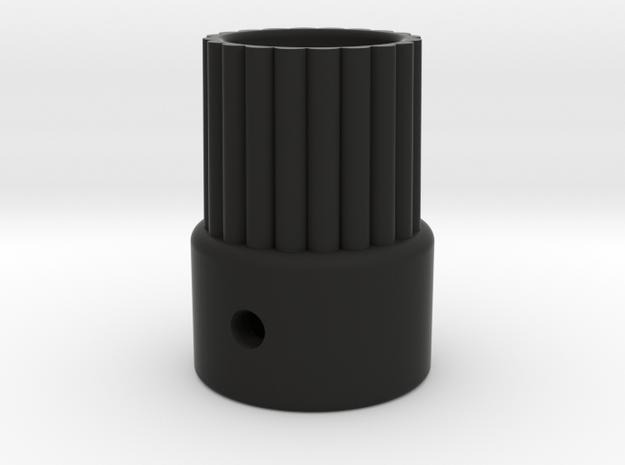 AR60 Spline on combined 12mm CF and 9.5mm Alloy tu in Black Natural Versatile Plastic