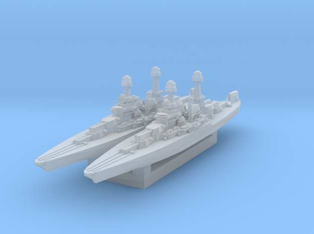Colorado Battleship 1930s (A&A Classic) in Smooth Fine Detail Plastic