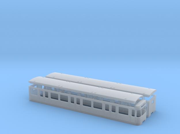U-Bahn München A / Nürnberg DT1 in Smooth Fine Detail Plastic: 1:120 - TT