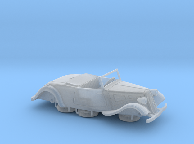 1:72 Citroen Traction Roadster in Smooth Fine Detail Plastic