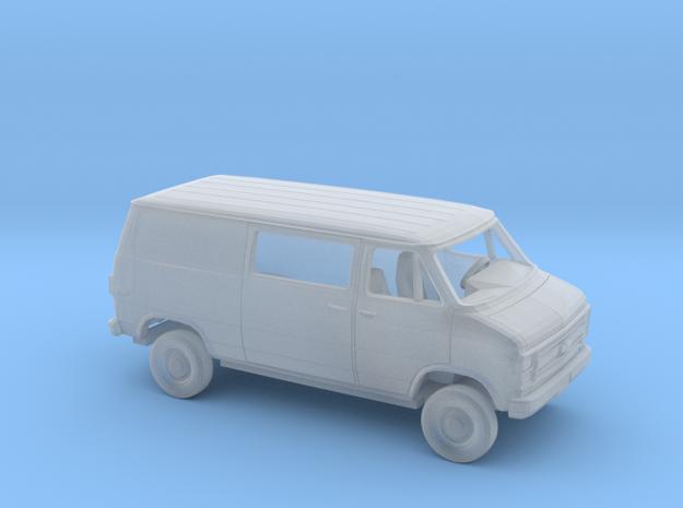 1/160 1984  Chevy G Van Regular SlidingSide in Smooth Fine Detail Plastic