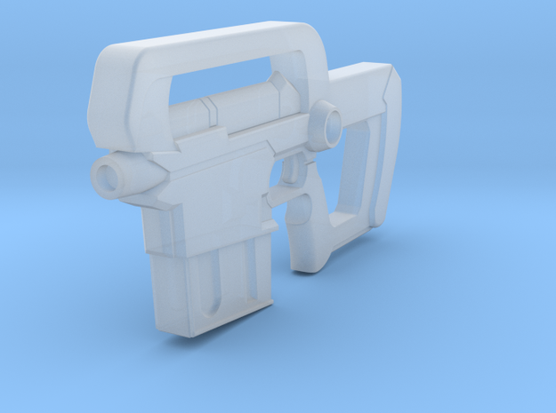 mmzGunClip in Smooth Fine Detail Plastic