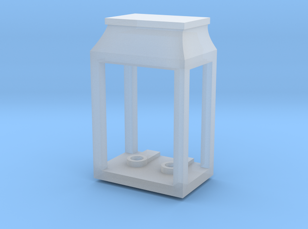Wall Double Lantern (0.125in Holes) in Smooth Fine Detail Plastic