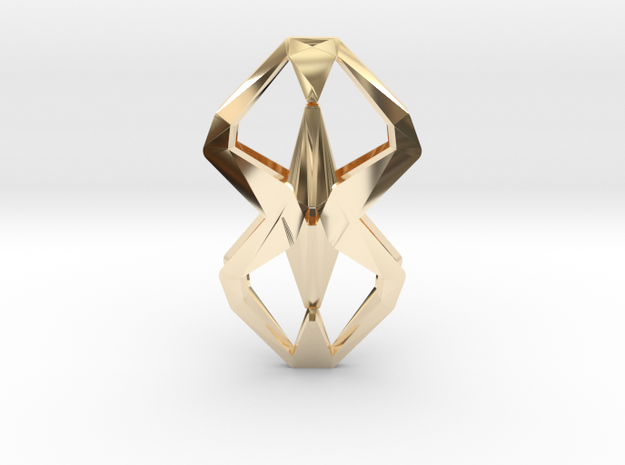 """""""head to head, heart to heart"""" YOUNIFORM, pendant 3d printed"""