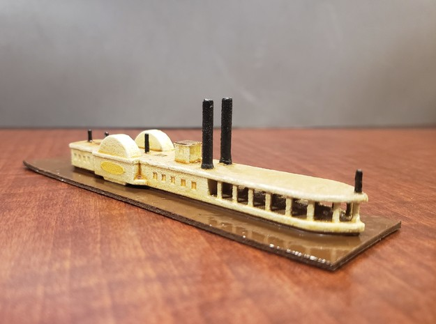 1/600 CSS J. A. Cotten in White Natural Versatile Plastic
