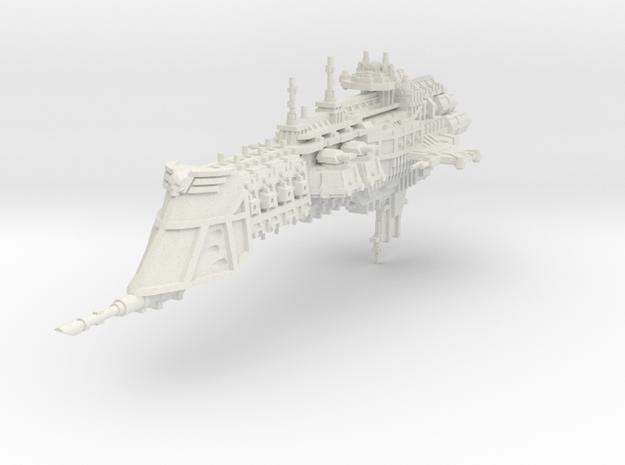 Crucero clase Lunar in White Natural Versatile Plastic