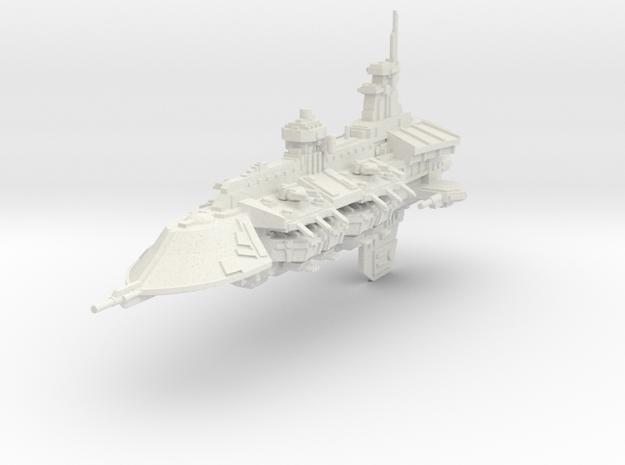 Gran Crucero clase Ejecutor in White Natural Versatile Plastic