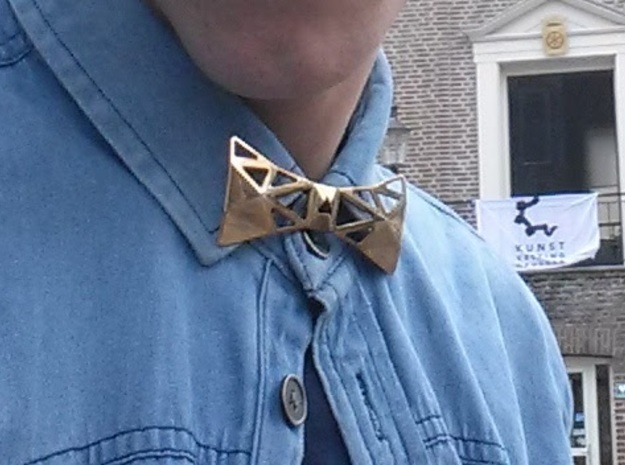 BOWTIE in Polished Brass