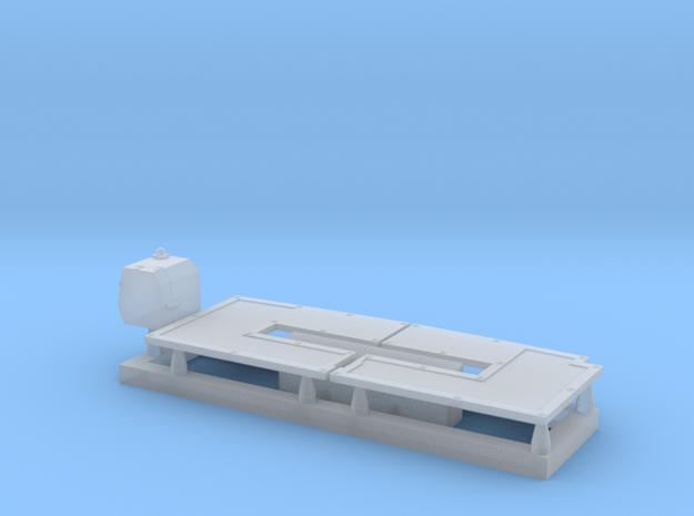 Riverine_Command_Boat_Midships_Details in Smoothest Fine Detail Plastic