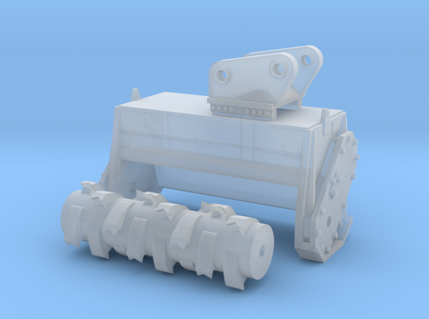 1:50 Mulching head for 20T excavators. *Updated* in Smooth Fine Detail Plastic