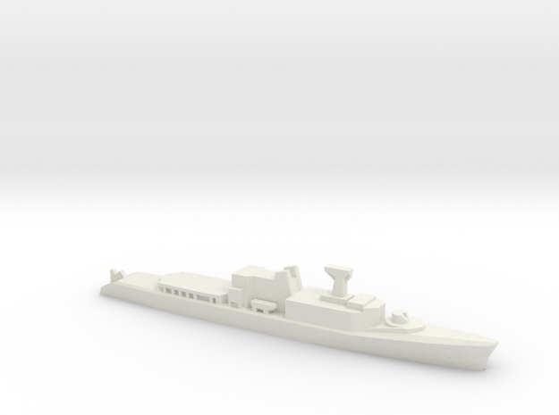 St. Laurent-class DDH, 1/2400 in White Natural Versatile Plastic