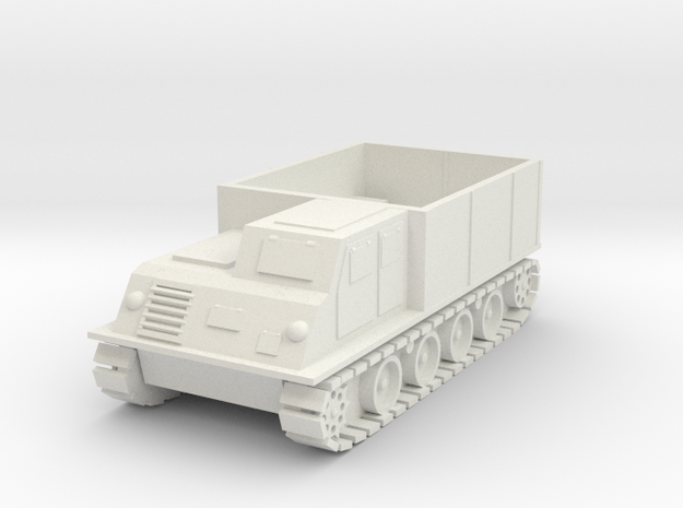 Japanese WW2 Typ 1 Ho-Ki - Armored Personnel Carri in White Natural Versatile Plastic