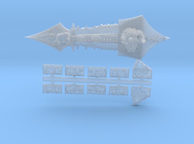 Nurgle_9_cruiser in Smooth Fine Detail Plastic