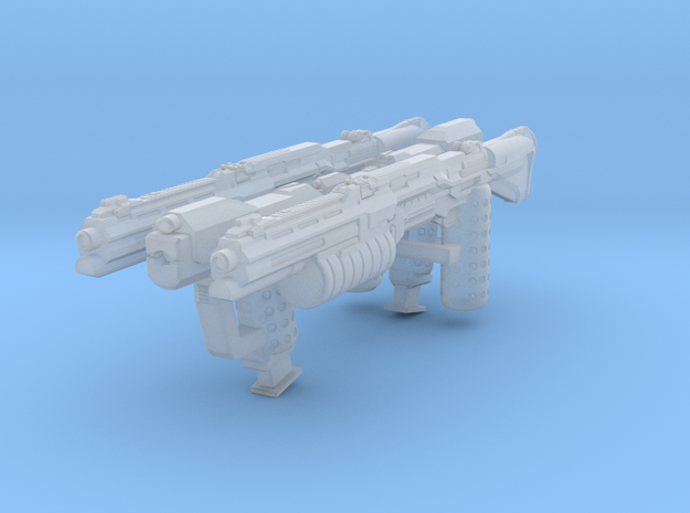 MB_MCX Halo UNSC Magnums and Shotguns in Smoothest Fine Detail Plastic