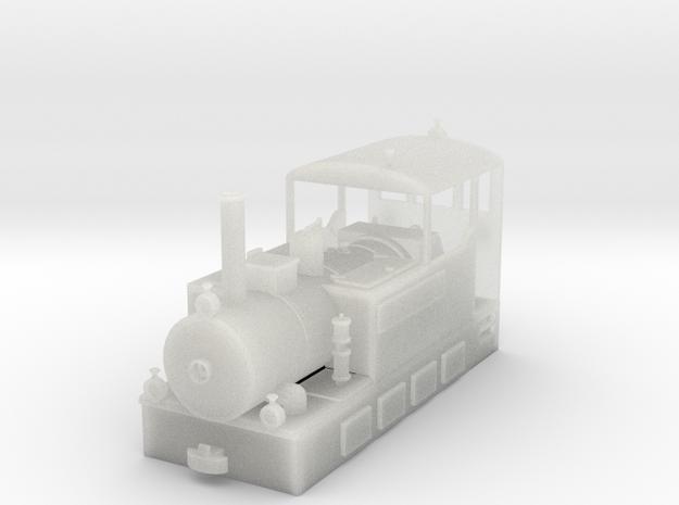 Freelance H0e model tramway loco - n.2