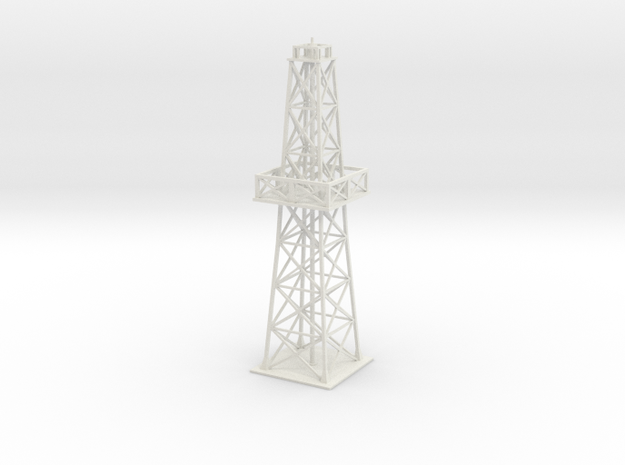 Oil rig - short 3d printed