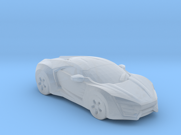 Lykan hypersport 1:144 scale in Smooth Fine Detail Plastic