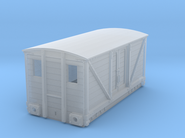 4WB006 Cambrian railways Road van in Smooth Fine Detail Plastic