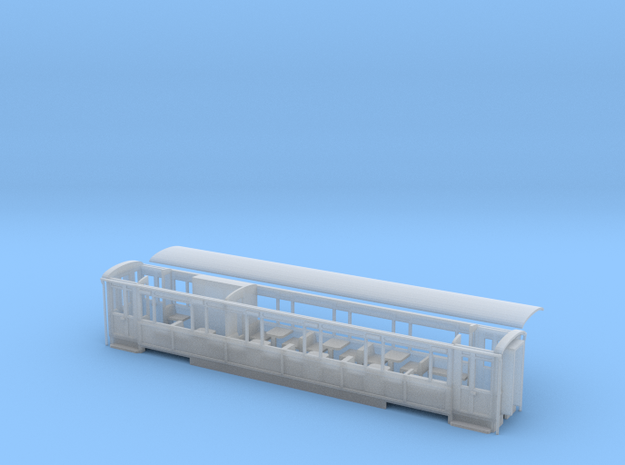 WHR Winson engineering coach NO.2090 refurb in Smooth Fine Detail Plastic