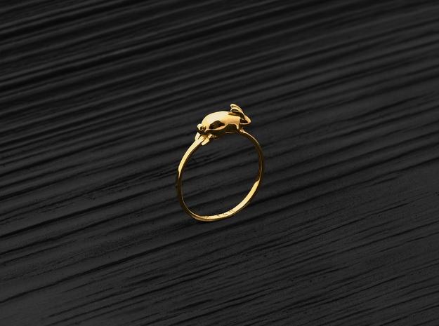Stacking Ring (Playful) (Gold)