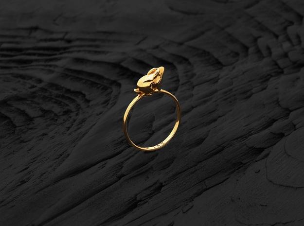 Stacking Ring (Proud) (Gold)