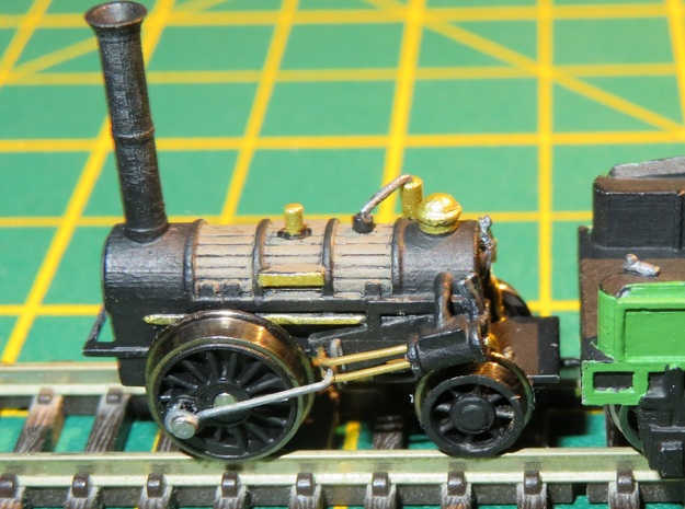 N Gauge Northumbrian Loco Scratch Aid in Smooth Fine Detail Plastic