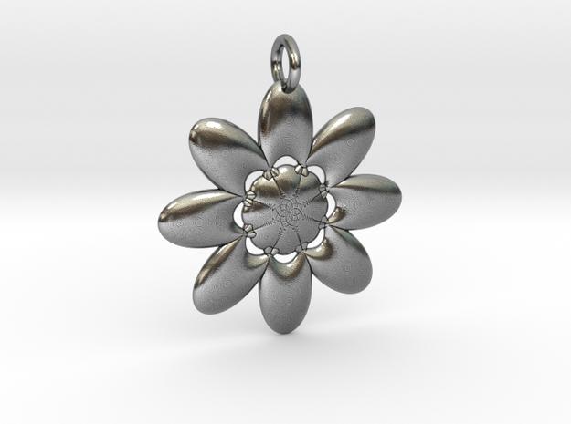 Daisy in Antique Silver