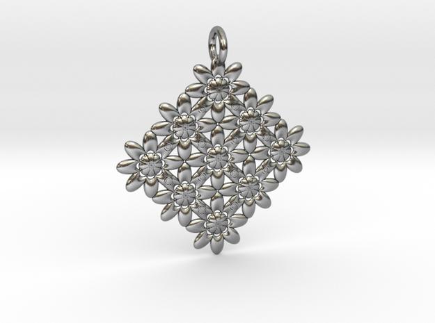 Pattern in Antique Silver
