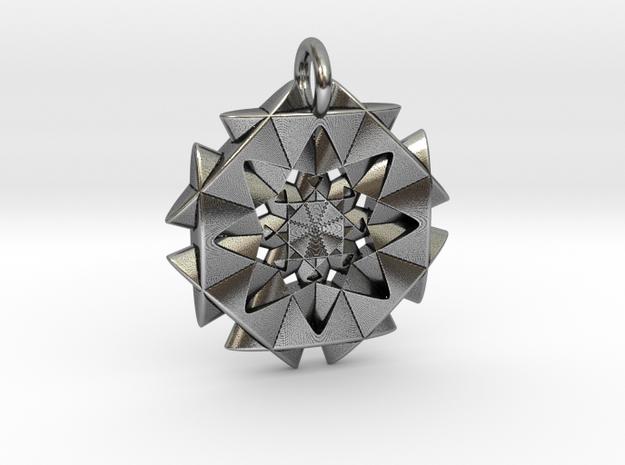 Overlap in Antique Silver