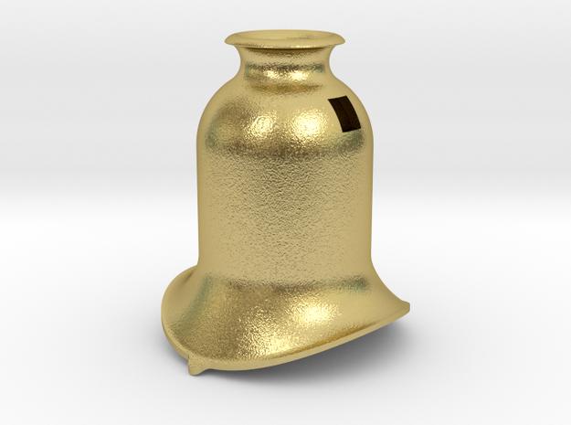 OSQ002 Adamson Loco Dome, 16mm Scale in Natural Brass