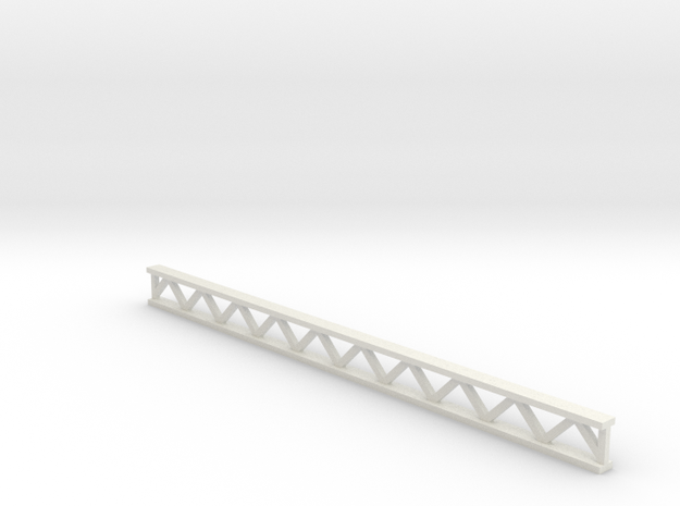 Zirkuszeltmast 70mm - 1:120 - TT in White Natural Versatile Plastic