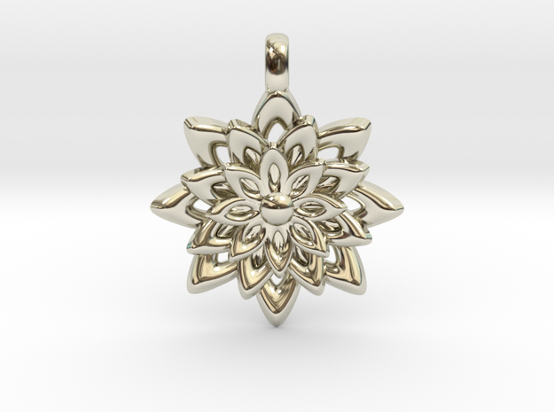 Lotus Flower Symbol Jewelry Necklace