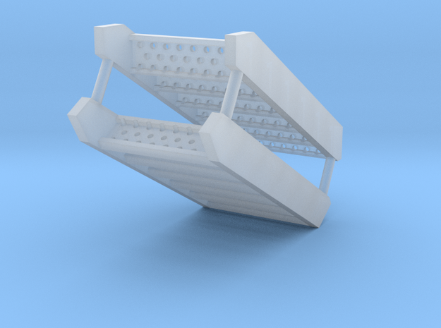 SHOALBUSTER 2609 stair foredeck (2pcs) in Smooth Fine Detail Plastic