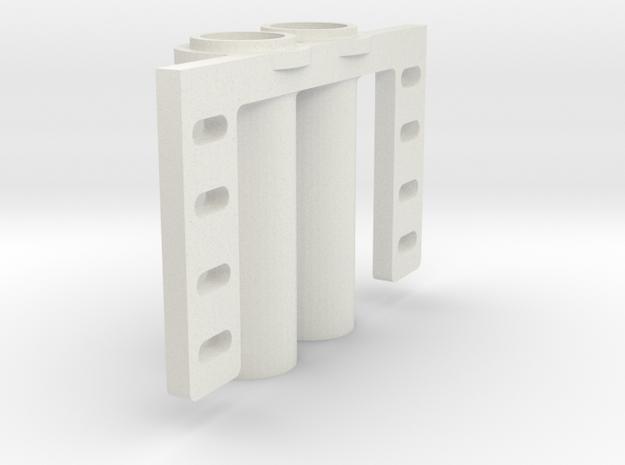 Karmfork Pipe AHT (2pcs) in White Natural Versatile Plastic