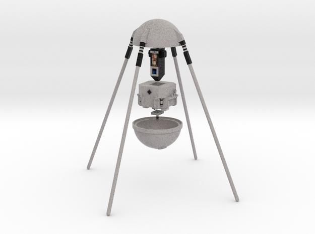 Reproduction of Sputnik to assemble in Natural Full Color Sandstone