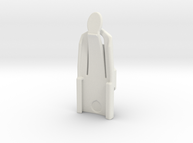 Wrist mount for Garmin Alpha/ Astro 320 in White Natural Versatile Plastic
