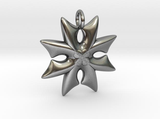Cross in Antique Silver