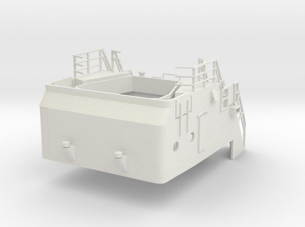 Superstructure 1/100 V60 fits Harbor Tug  in White Premium Versatile Plastic