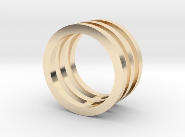 Innovation inspired rings 14-karat roses gold ring in 14K Gold