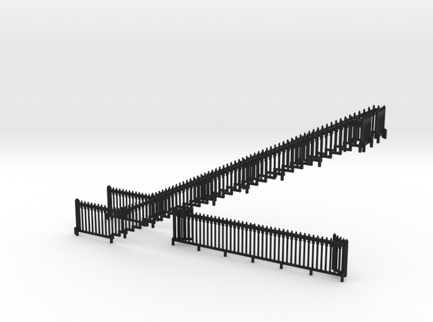 HOfunTP26 - Treport funicular in Black Natural Versatile Plastic