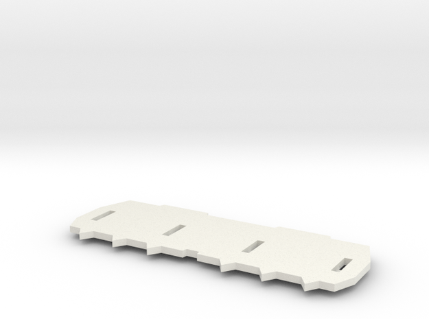 Doser Blade for BREM-D in 1:35 scale in White Natural Versatile Plastic