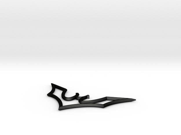 Batarang Bottle Opener 3d printed